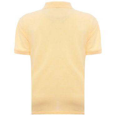 camisa-polo-aleatory-masculina-lisa-amarelo-costas