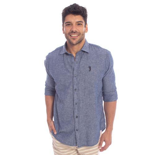 camisa-aleatory-masculino-manga-longa-linho-azul-jeans-modelo-1-