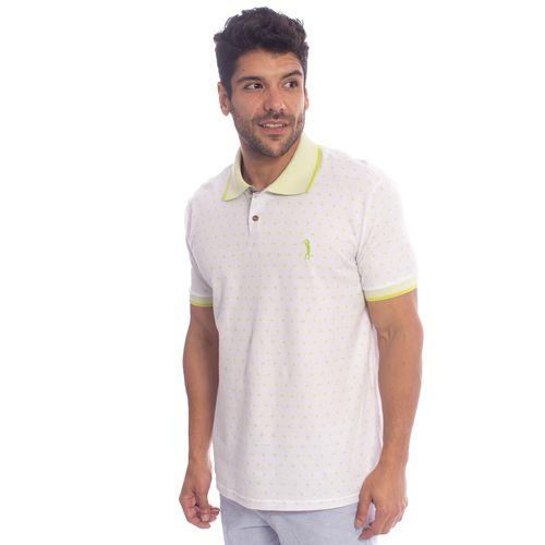 camisa-polo-aleatory-masculino-mini-print-eagle-modelo-4-