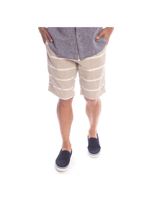 shorts-aleatory-masculino-sarja-listrado-fun-khaki-modelo-3-