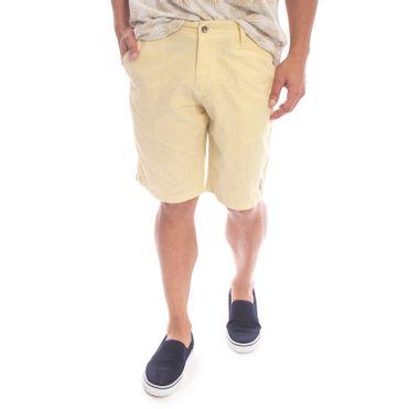 shorts-aleatory-masculino-sarja-soft-amarelo-modelo-1-