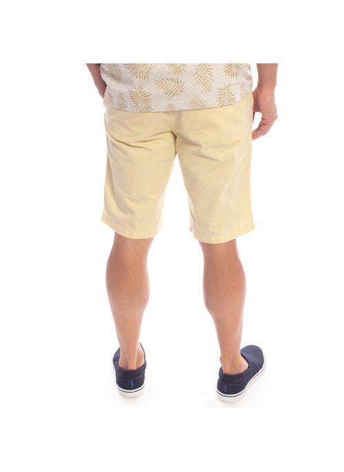 shorts-aleatory-masculino-sarja-soft-amarelo-modelo-3-
