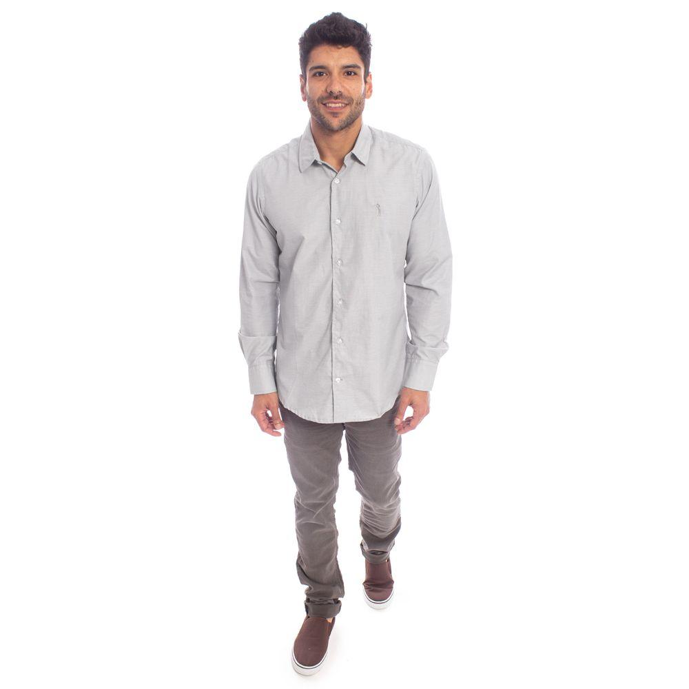 95c1f7d496 Camisa Aleatory Slim Fit Manga Longa Florence - Aleatory
