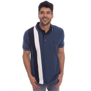 Camisa Polo Aleatory Listrada Shut - Aleatory 61e75617d909f