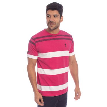 Camiseta Aleatory Listrada Canvas aea52cd96531e