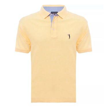 camisa-polo-aleatory-masculina-lisa-mescla-amarelo-2018-modelo-5-