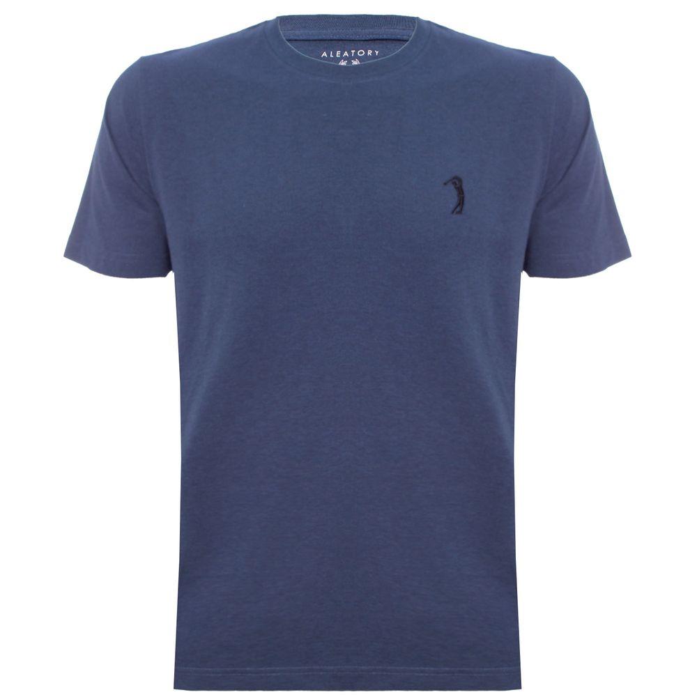 3ff7cb22ba camiseta-aleatory-masculina-lisa-azul-mescla-still-2019 ...