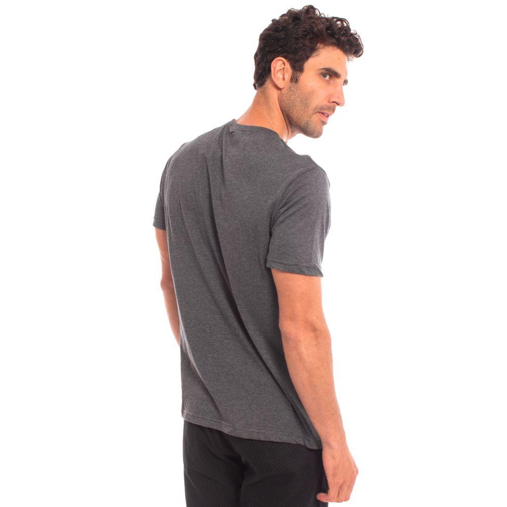 c3c556da6a Camiseta Aleatory Lisa Cinza Mescla - Aleatory