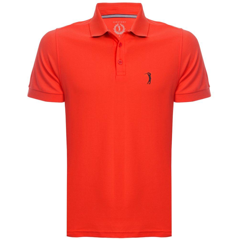 camisa-polo-aleatory-masculina-lisa-piquet-light-laranja ... a6510a63d1576