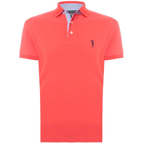 Camisa Polo Coral Lisa Aleatory é na Aleatory Store - Aleatory b926100dafcbb