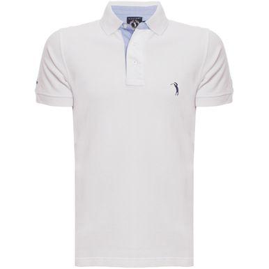 f4e488eeb3c87 Camisa Polo Branca Lisa é na Aleatory Store - Aleatory