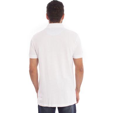 b386d0885e27f Camisa Polo Branca Lisa Aleatory