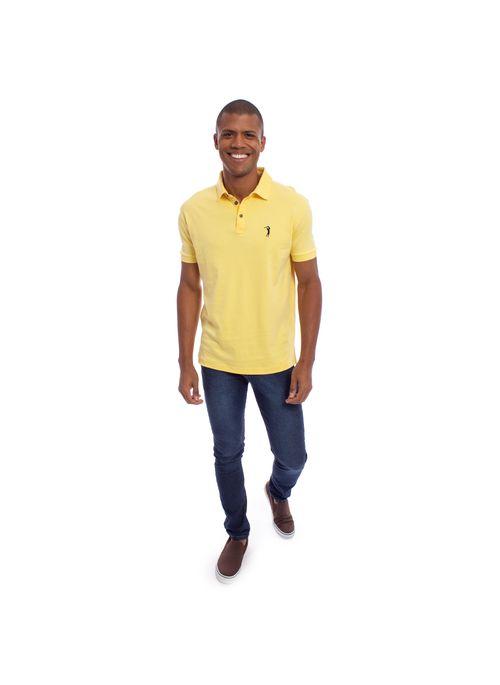 camisa-polo-aleatory-lisa-pima-algodao-amarela-modelo-3-