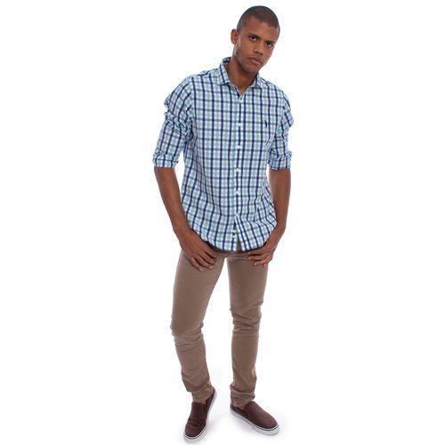 b0300bbe0f8fc camisa-aleatory-masculina-xadrez-manga-longa-vip-still- ...