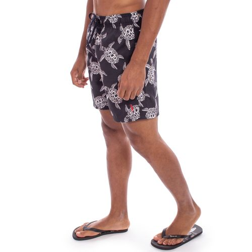 shorts-aleatory-masculina-estampada-midnight-turtle-modelo-2-