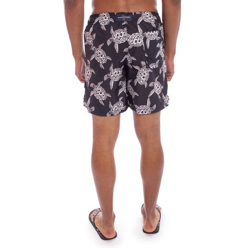 shorts-aleatory-masculina-estampada-midnight-turtle-modelo-3-