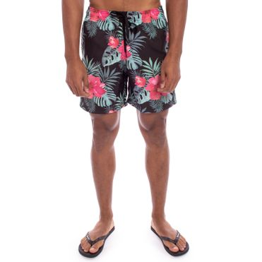 shorts-aleatory-masculina-estampada-summer-flower-modelo-1-