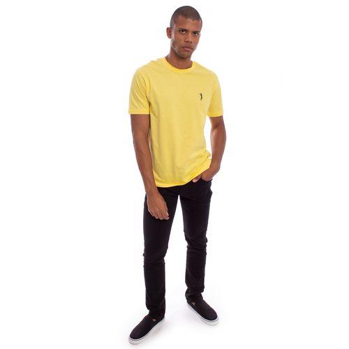camiseta-aleatory-masculina-lisa-amarela-modelo-20191-3-