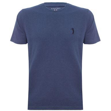 a85030288d Camiseta Aleatory Lisa Azul Mescla - Aleatory