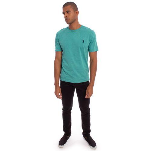 camiseta-aleatory-masculina-lisa-mescla-verde-modelo-2019-7-