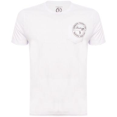 700759b30 Camiseta Aleatory Estampada Com Bolso - Aleatory