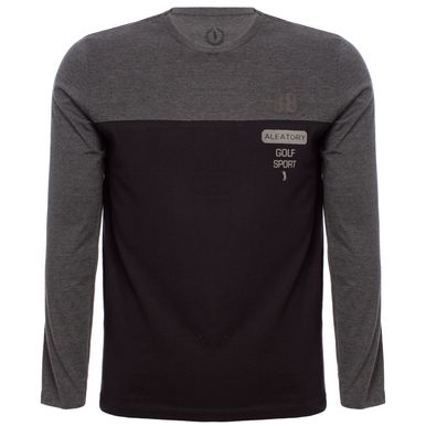 02e432c126 Camiseta Aleatory Estampada Manga Longa Golf Sport - Aleatory