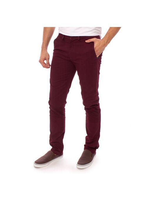 calca-sarja-aleatory-masculina-chino-vinho-modelo-1-