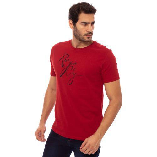 camiseta-aleatory-masculina-estampada-run-your-city-vermelha-modelo-4-