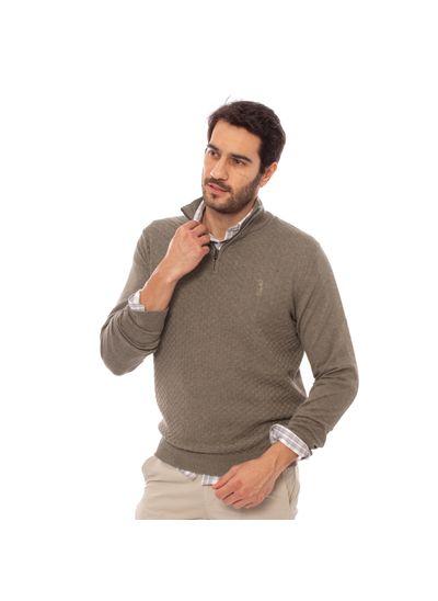sueter-aleatory-masculino-1-2-ziper-khaki-modelo-1-
