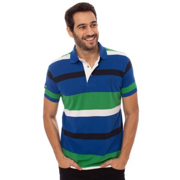 3cad5d5fbc ... camisa-polo-aleatory-masculina-listrada-piquet-move-azul-