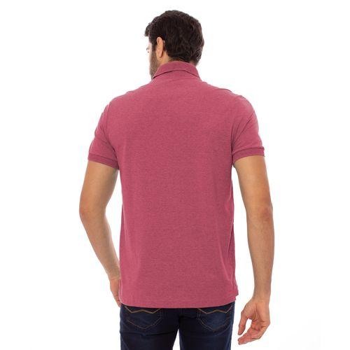 camisa-polo-aleatory-masculina-lisa-gola-trancada-rosa-mescla-modelo-2-