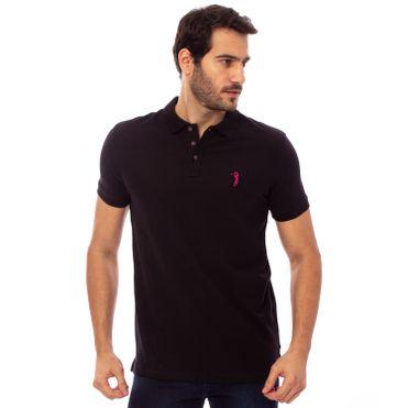 camisa-polo-aleatory-masculina-piquet-pima-lisa-preta-modelo-1-