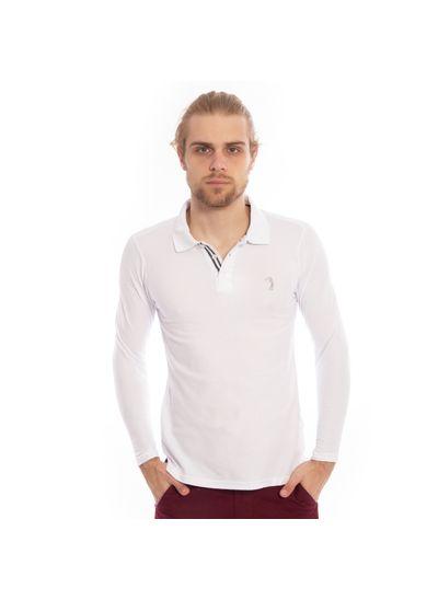 camisa-polo-aleatory-piquet-lisa-manga-longa-branca-modelo-1-