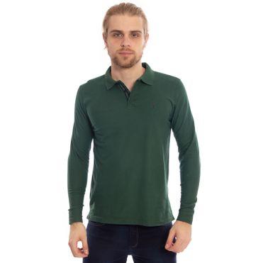 camisa-polo-aleatory-piquet-lisa-manga-longa-verde-modelo-1-