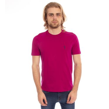 camiseta-masculino-aleatory-lisa-rosa-pink-2019-modelo-1-