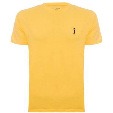 camiseta-amarela-lisa-basica-escura-still