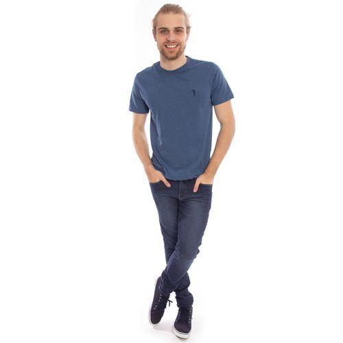 camiseta-masculino-aleatory-lisa-azul-mescla-2019-modelo-7-