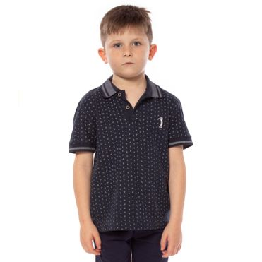 camisa-polo-aleatory-infantil-mini-print-aroow-azul-marinho-modelo-1-