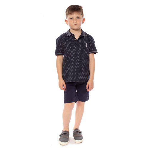 camisa-polo-aleatory-infantil-mini-print-aroow-azul-marinho-modelo-3-