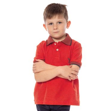 camisa-polo-aleatory-infantil-mini-print-fair-laranja-modelo-1-