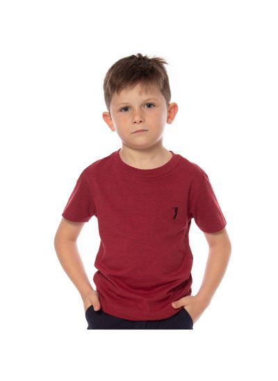 camiseta-aleatory-infantil-lisa-vermelha-mescla-modelo-1-