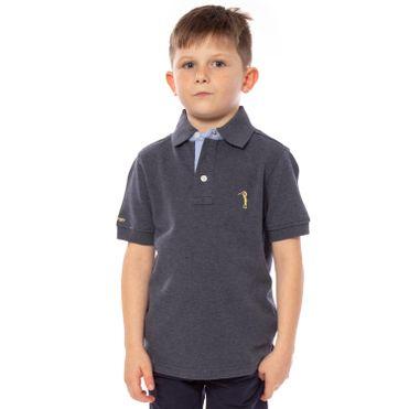 camisa-polo-aleatory-infantil-lisa-azul-mescla-modelo-1-