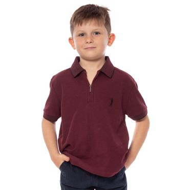 camisa-polo-aleatory-infantil-piquet-gola-jacquard-ziper-modelo-1-