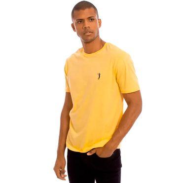 Camiseta-Amarelo-Lisa-Aleatory-3