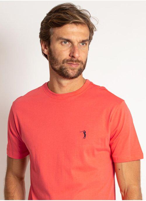 camiseta-aleatory-masculina-lisa-laranja-coral-modelo-1-