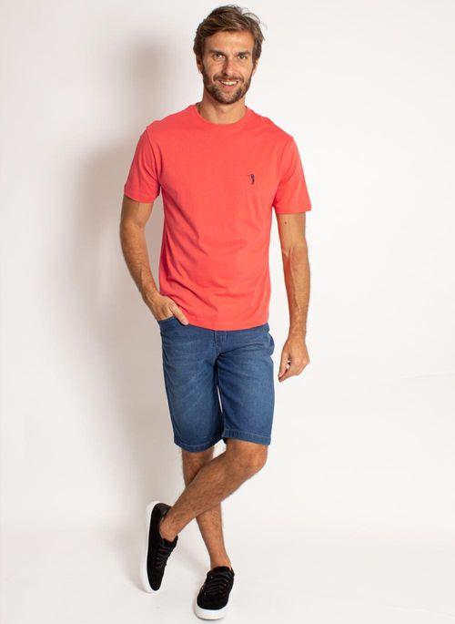 camiseta-aleatory-masculina-lisa-laranja-coral-modelo-3-