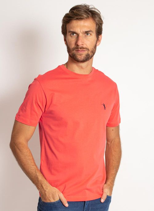 camiseta-aleatory-masculina-lisa-laranja-coral-modelo-4-