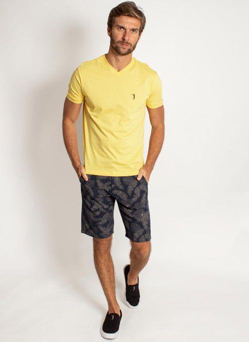 camiseta-aleatory-masculina-lisa-gola-v-amarela-modelo-2019-3-