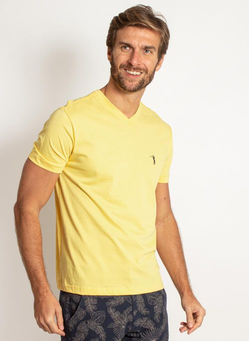 camiseta-aleatory-masculina-lisa-gola-v-amarela-modelo-2019-4-