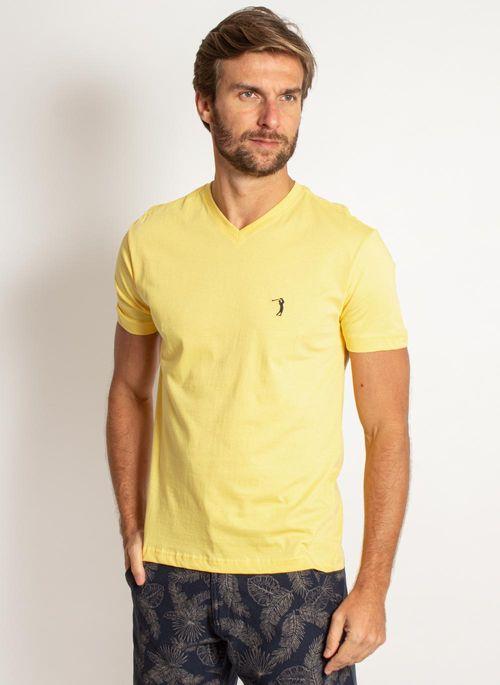camiseta-aleatory-masculina-lisa-gola-v-amarela-modelo-2019-5-